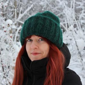 Anna Talvinen työskentelee Lastentutkimusklinikalla